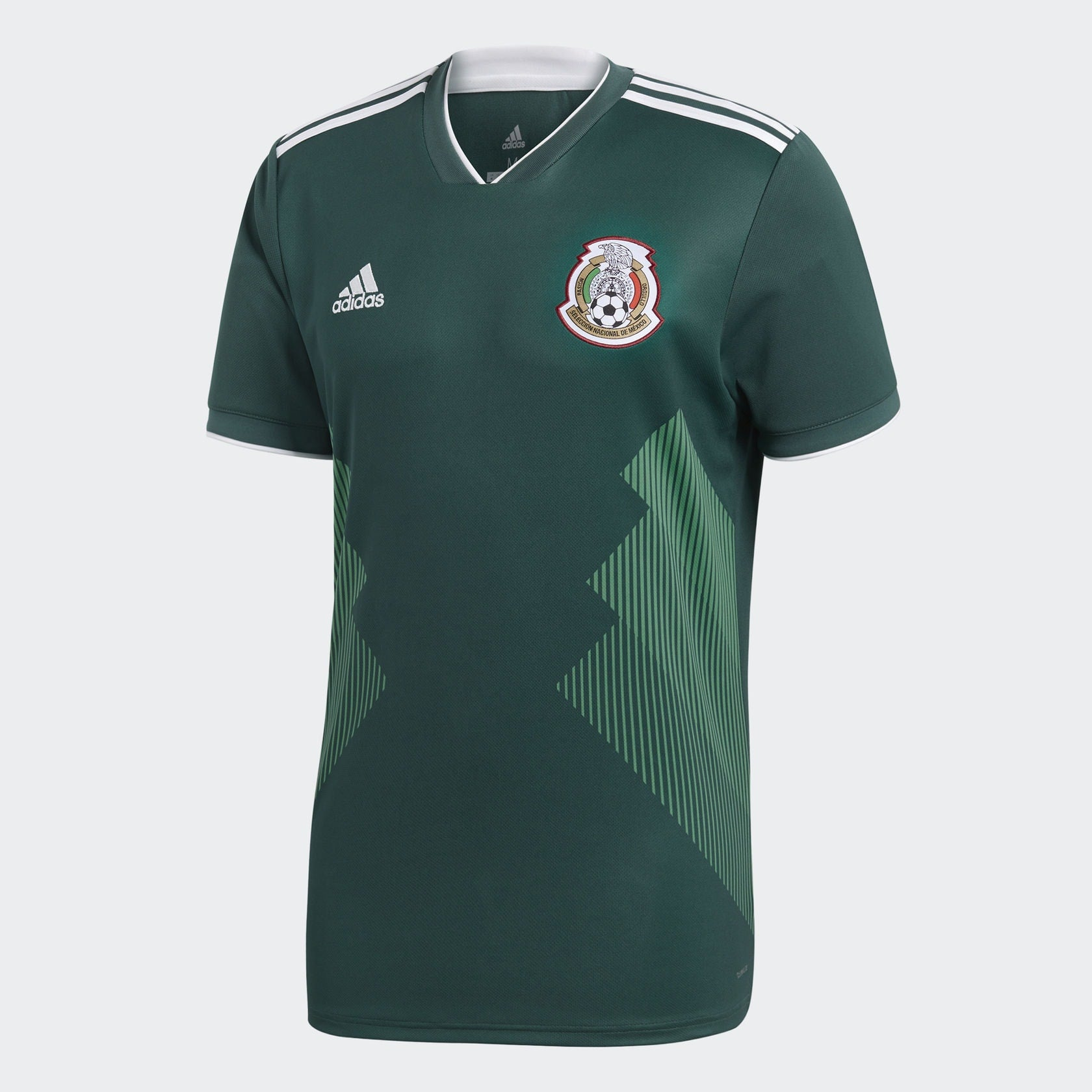 best loved 89a07 40570 adidas Mexico Home Replica Jersey