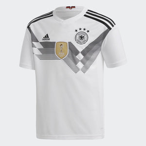 Adidas - Adidas Youth Germany Home 2018 Replica Jersey - La Liga Soccer