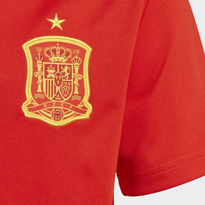 Adidas - Adidas Youth Spain Home 2018 Replica Jersey - La Liga Soccer