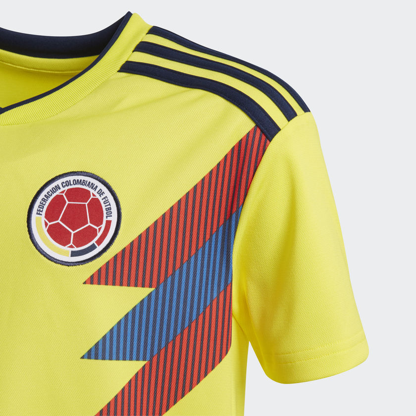 d8aa266a2ea Adidas - Adidas Youth Colombia 2018 Home Replica Jersey - La Liga Soccer