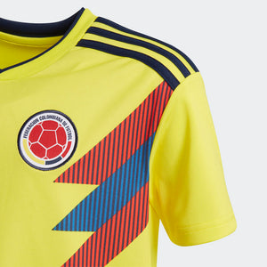Adidas - Adidas Youth Colombia 2018 Home Replica Jersey - La Liga Soccer