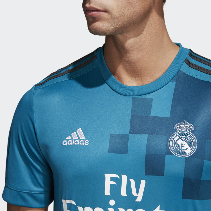 brand new 28158 8143f adidas Real Madrid 2018 Replica Third Jersey