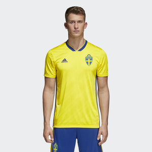 Adidas Sweden 2018 Home Jersey