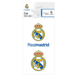La Liga Soccer - Club Team Car Decals - La Liga Soccer