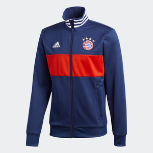 Adidas Men's FC Bayern 3-Stripes Track Jacket