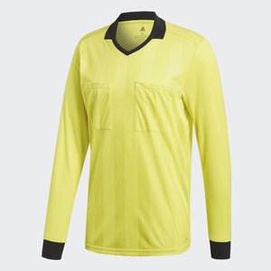 Adidas - Men's Adidas Referee 18 Long Sleeve Jersey - La Liga Soccer