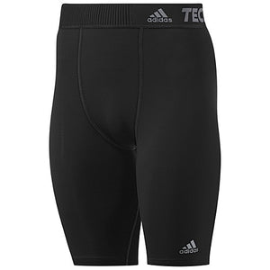 "Adidas - Adidas TechFit Base Short Tight 9"" - Men's - La Liga Soccer"