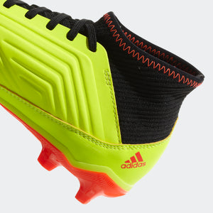 Kids' Adidas Predator 18.3 Firm Ground Boots