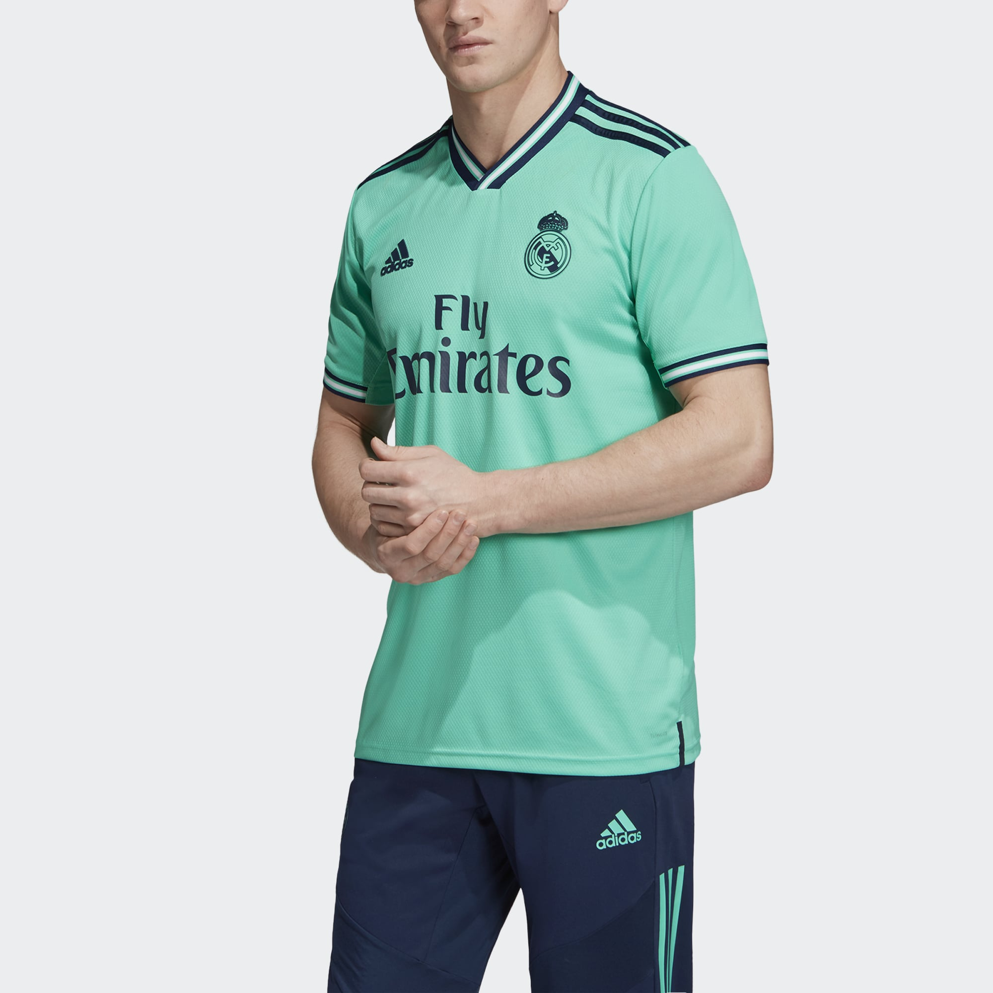 buy online dbdce a53b7 Men's adidas Real Madrid Third Jersey
