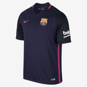 Nike - Nike Men's FC Barcelona Away Stadium Top 17 - La Liga Soccer