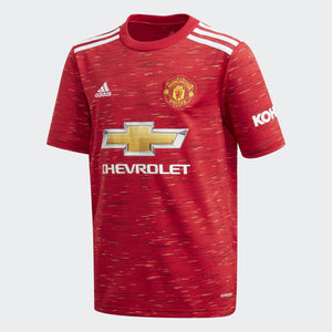 Kids' adidas Manchester United 20/21 Home Jersey