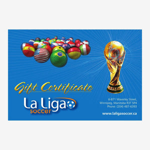 La Liga Soccer Referral Gift Card