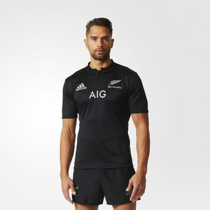 Adidas - Adidas All Blacks Rugby Home Jersey 17 - La Liga Soccer
