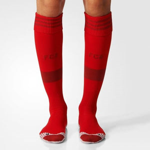 Adidas - Adidas FC Bayern Home Replica Player Socks 1 Pair - La Liga Soccer