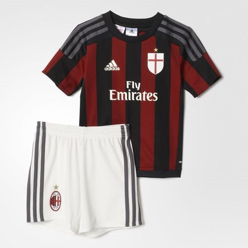 buy popular 1ab2e 88c4e adidas AC Milan Home 16 Mini Kit