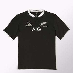 Adidas - Adidas All Blacks Short Sleeve Youth Jersey - La Liga Soccer