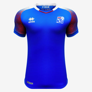 Errea - Errea Iceland Authentic Home Jersey World Cup 2018 - La Liga Soccer