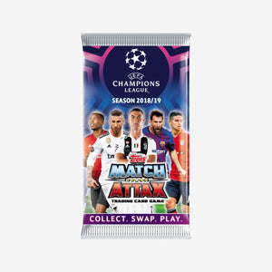 Topps UEFA Champions League Match Attax 7-Card Pack