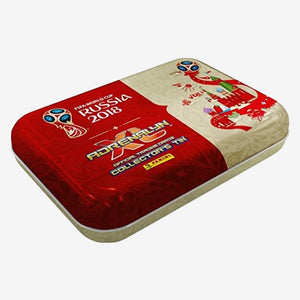 Panini World Cup Adrenalyn XL Trading Card Collector's Tin (55 Card)