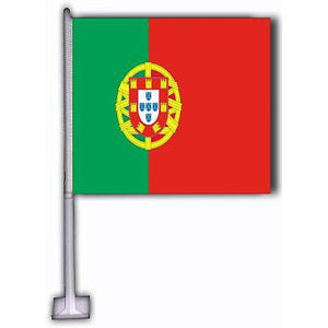 La Liga Soccer - International Car Flags - La Liga Soccer