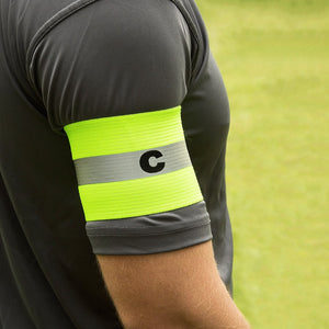 KwikGoal Reflective Captain Arm Band