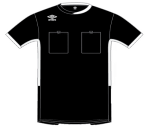Umbro Youth Watch Referee Short Sleeve Jersey
