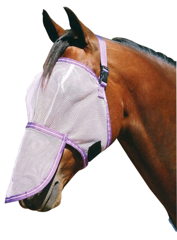 Fly mask & Nose Protector Set - Cob