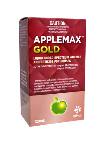 Applemax Gold Liquid Broad Spectrum Wormer & Boticide