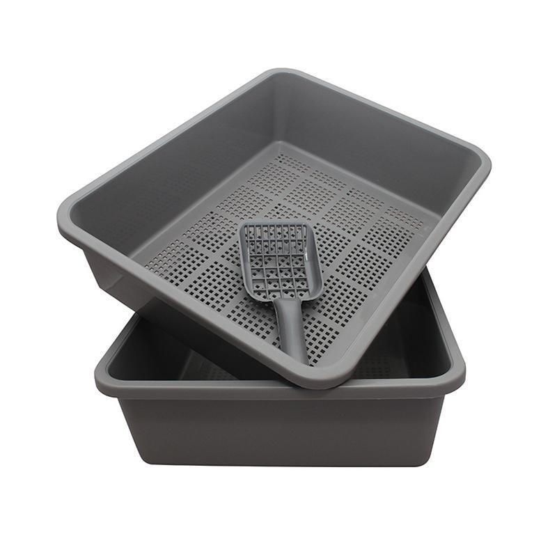Kitter Sieve Tray - 3 pc set charcoal