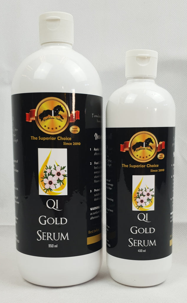 EQUINE PASSION- QI Gold Serum