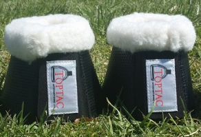 Toptac Fleece Over Reach Bell Boots