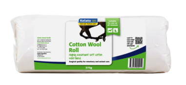 KELATO Cotton Wool Roll 375g