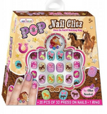 Pony Designs - Children's press on nails