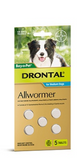 Drontal DOG Allwormer - Tablets