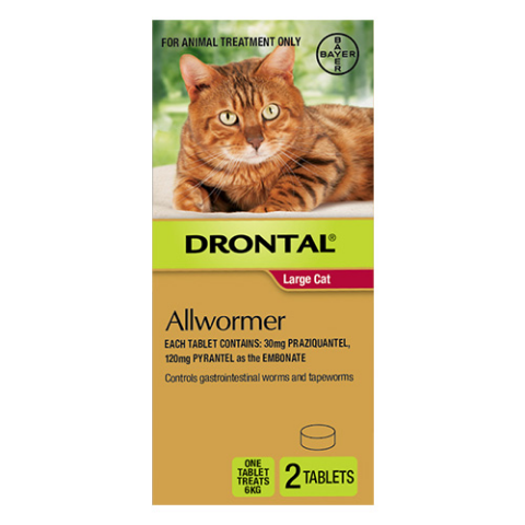Drontal Cat Allwormer - tablets
