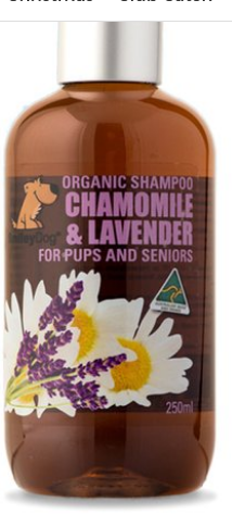 SMILEY Organic Shampoo for Pups & Seniors