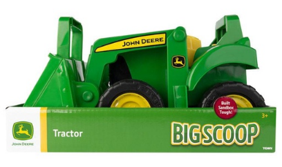 JD Big Scoop Tractor with Loader