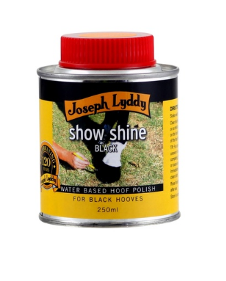 JL - Show Shine - Black Hoof Polish - 250ml