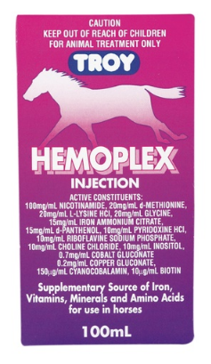 Troy Hemoplex 100mls