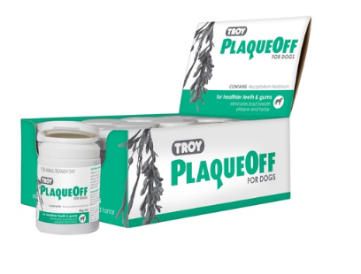 Troy Plaqueoff Dog 40g
