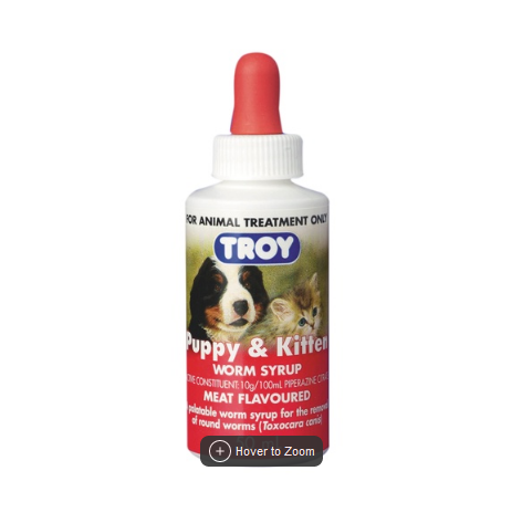 Troy Puppy & Kitten 50mls