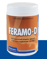 Virbac Feramo-D Vitamin and Mineral Supplement for Dogs