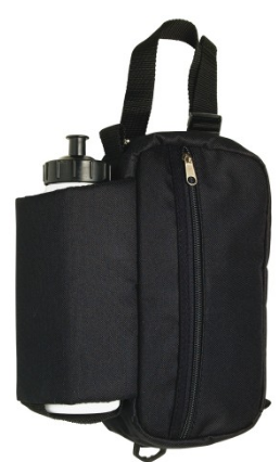 Insulated Water Bottle and Zipper Pouch Case