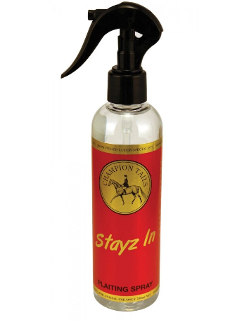 Champion Tails- Stayz In Plaiting/Banding Spray 250ml
