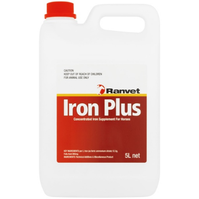 Ranvet Iron Plus with Folic acid 5lt
