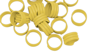 Poultry Leg Bands Spiral Plastic 16mm