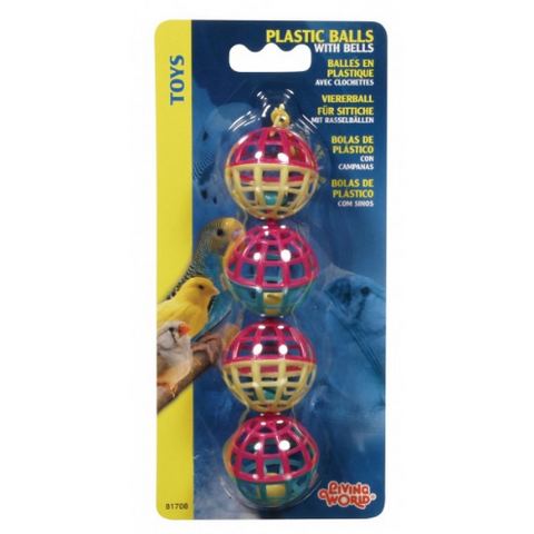 Living World Plastic Balls with Bells