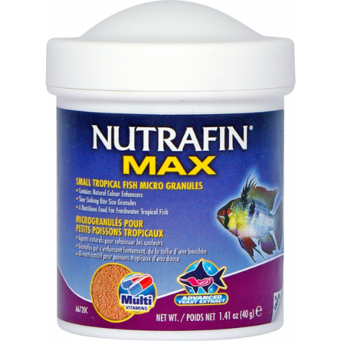 Nutrafin Max Small Tropical Micro Pellets 40gm
