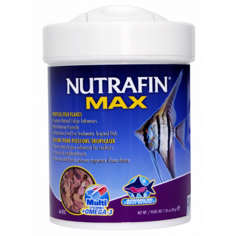 Nutrafin Max Tropical Fish Flakes 38gm