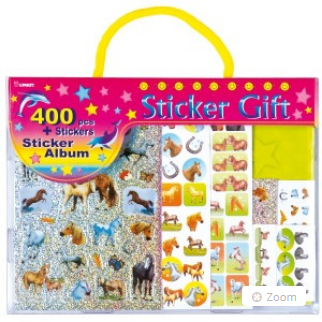 Sticker Gift 400pcs & Sticker Album